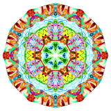 Kaleidoscopic Smoke Art Royalty Free Stock Image