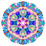 Kaleidoscopic Smoke Art Stock Images