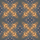 Kaleidoscopic sunset seamless generated texture Royalty Free Stock Images