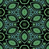 Kaleidoscopic tile Stock Image