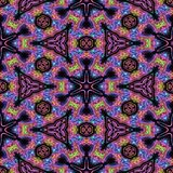 Kaleidoscopic tile Stock Photography