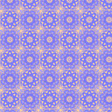 Kaleidoscopic tiles seamless pattern stock photo