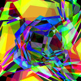 Kaleidoscopic vector background Royalty Free Stock Photo