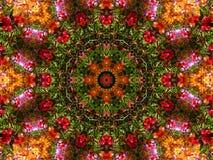 Kaleidoscopic wallpaper pattern Stock Image