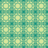 Kaleidoscopic wrapping paper seamless pattern royalty free stock image