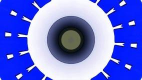 Kaleidoskop übertrug Video vektor abbildung