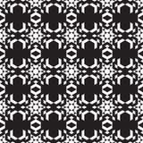 Kaleidoskop de figuras isométricas em um fundo preto Fotografia de Stock Royalty Free