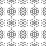 Kaleidoskop de formas isométricas cinzentas Fotos de Stock