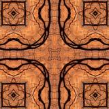 Kaleidoskop-Hintergrund stockbild