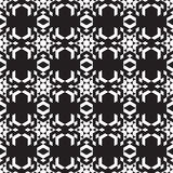 Kaleidoskop of isometric figures on a black background. Kaleidoskop of isometric figures. Seamless pattern on a dark background Royalty Free Stock Photography