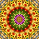 Kaleidoskop mit 16 Elementen Stockbilder