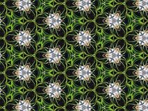 Kaleidoskop-Muster Art Fantasy Background Stockbilder