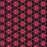 Kaleidoskop-Muster-Hintergrund Lizenzfreies Stockbild