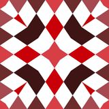 Kaleidoskop nahtlos Geometrischer Musterhintergrund lizenzfreies stockfoto