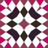 Kaleidoskop nahtlos Geometrischer Musterhintergrund lizenzfreie stockfotografie