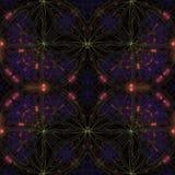 Kaleidoskop, ornamentn, Muster vektor abbildung