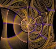 Kaleidoskop, ornamentn, Muster, lizenzfreie abbildung