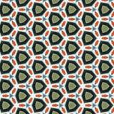Kaleidoskop-Papiermuster Stockfoto
