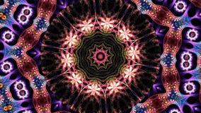 Kaleidoskopblumenhintergrund stock abbildung