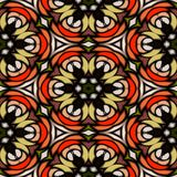 Kaleidoskopische Beschaffenheit des nahtlosen Musters Lizenzfreie Stockbilder