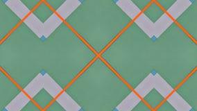 Kaleidoskopische Illustration von farbigen Papieren lizenzfreie abbildung