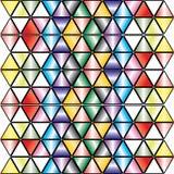 Kaleidoskopischer Hintergrund - Vektor. Stockfotografie
