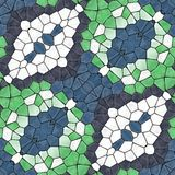 Kaleidoskopischer nahtloser Dekorationshintergrund Lizenzfreie Stockfotografie