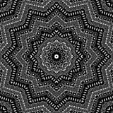 Kaleidoskopischer Ornamental Mosaik des nahtlosen abstrakten Musters Vektor Abbildung