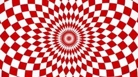 Kaleidoskopischer und hypnotischer Hintergrund Stockbild