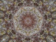 Kaleidoskopisches Bild der Weinleseart für Hintergrund Stockbild