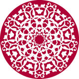 Kaleidoskopisches Blumenmuster Lizenzfreies Stockfoto