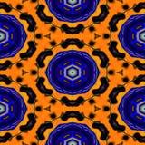 Kaleidoskopisches dekoratives Muster Stockbilder