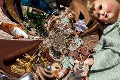 Kaleidoskopisches Muster eines Durcheinander-Verkaufs stock abbildung