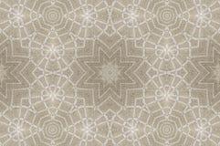 Kaleidoskopisches Muster von Leinentischdecken Stockfotos