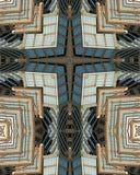 Kaleidoskopkreuz: Hearst Kontrollturm Stockfotografie