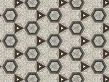 Kaleidoskopkunstzusammenfassungs-Beschaffenheitshintergrund Lizenzfreie Stockfotos