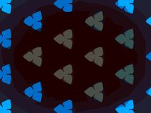 Kaleidoskopmuster-Beschaffenheitshintergründe stockbild