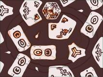 Kaleidoskopmuster-Beschaffenheitshintergründe lizenzfreies stockbild