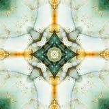 Kaleidoskopquadrat: Feuersteinschichten, Oregon-Küste Stockbilder