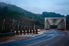 Kaleinaungbrug, Tanintharyi-Gebied, Myanmar Royalty-vrije Stock Afbeelding