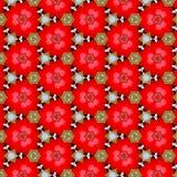 Kalejdoskopów balonów skutka abstrakta czerwoni jabłka Zdjęcia Royalty Free