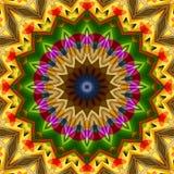 kalejdoskop för 16 beståndsdelar Royaltyfri Bild