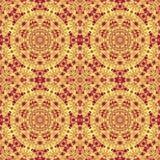 Kalejdoskop f?r symmetri f?r tappningmodell abstrakt Retro gammalt royaltyfri illustrationer