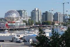 Kalejdoskop i nauki muzeum Vancouver Obrazy Royalty Free