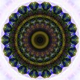 Kalejdoskop, mandala kolorowy tło Obraz Stock