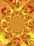 Kalejdoskop owoc Obrazy Stock