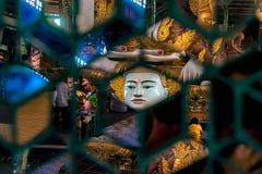 Kalejdoskop władyka Buddha Zdjęcia Royalty Free