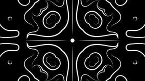 Kalejdoskop wideo pętla ilustracja wektor