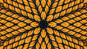 Kalejdoskopisk illustration av ett metallraster vektor illustrationer