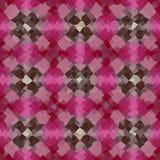 Kalejdoskopisk låg poly mosaik för triangelstilvektor Arkivbild